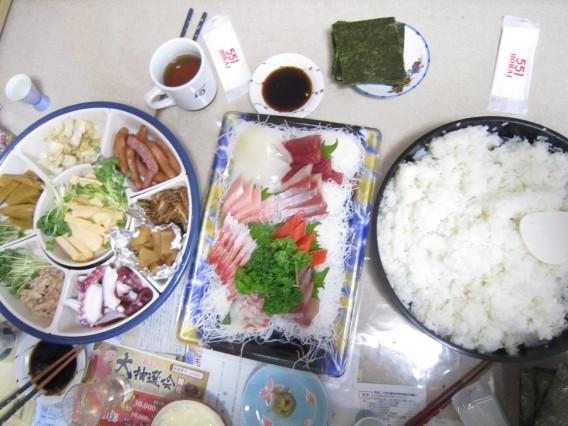 大晦日の手巻き寿司